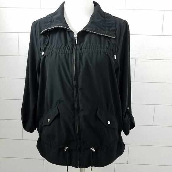 Chico's Jackets & Blazers - Chico's Zenergy size 1 Jacket Black Medium Stretch